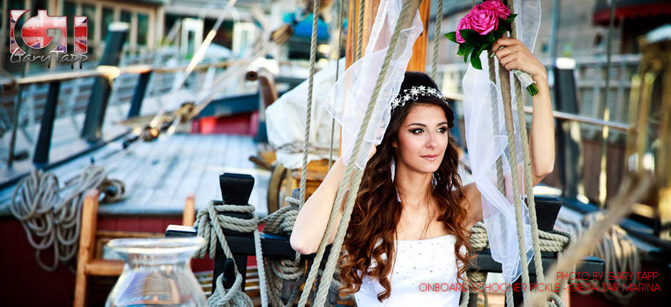 WPG Wedding Photographer slide 02 - Nelson's Tall Ship Pickle Provides New Wedding Venue