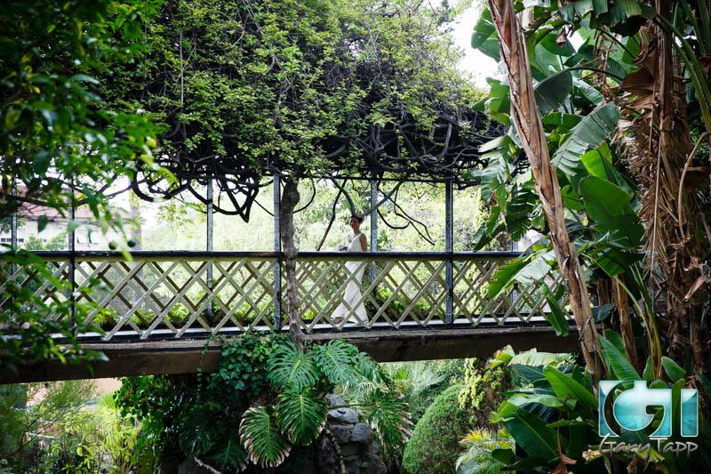 Beau Wedding Gibraltar Botanical Gardens Caleta Hotel 092014 5