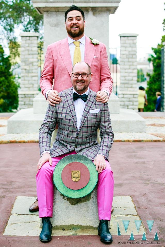 Same sex wedding in Gibraltar