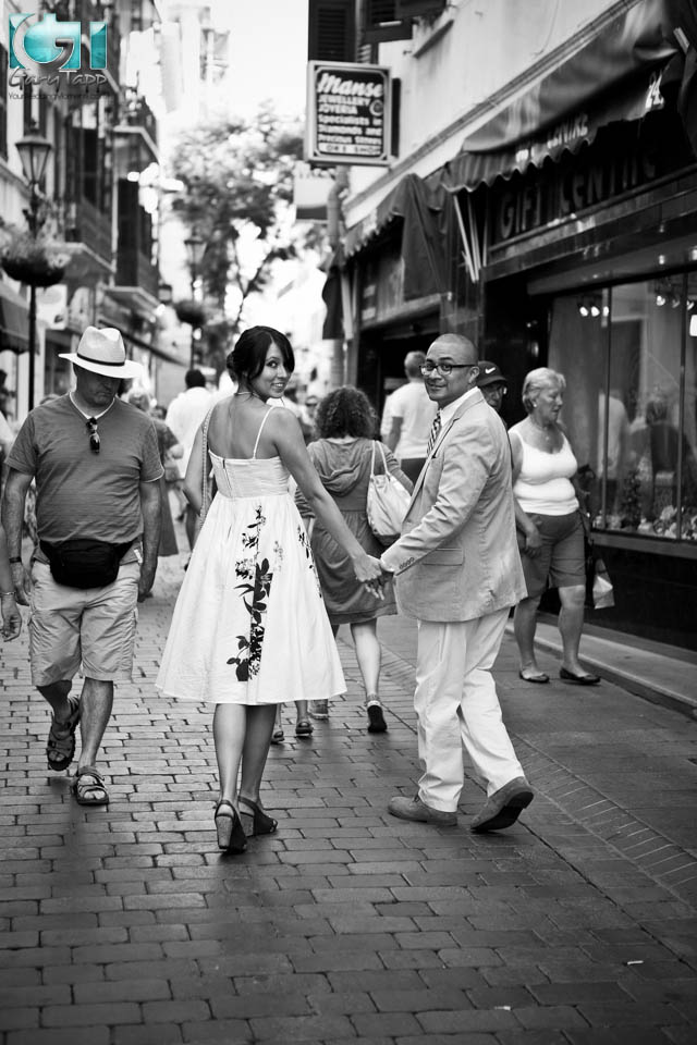 Urban Wedding Photographer Gibraltar