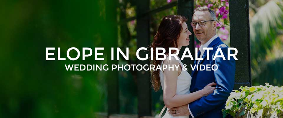 Professional Gibraltar Elopement photography packages