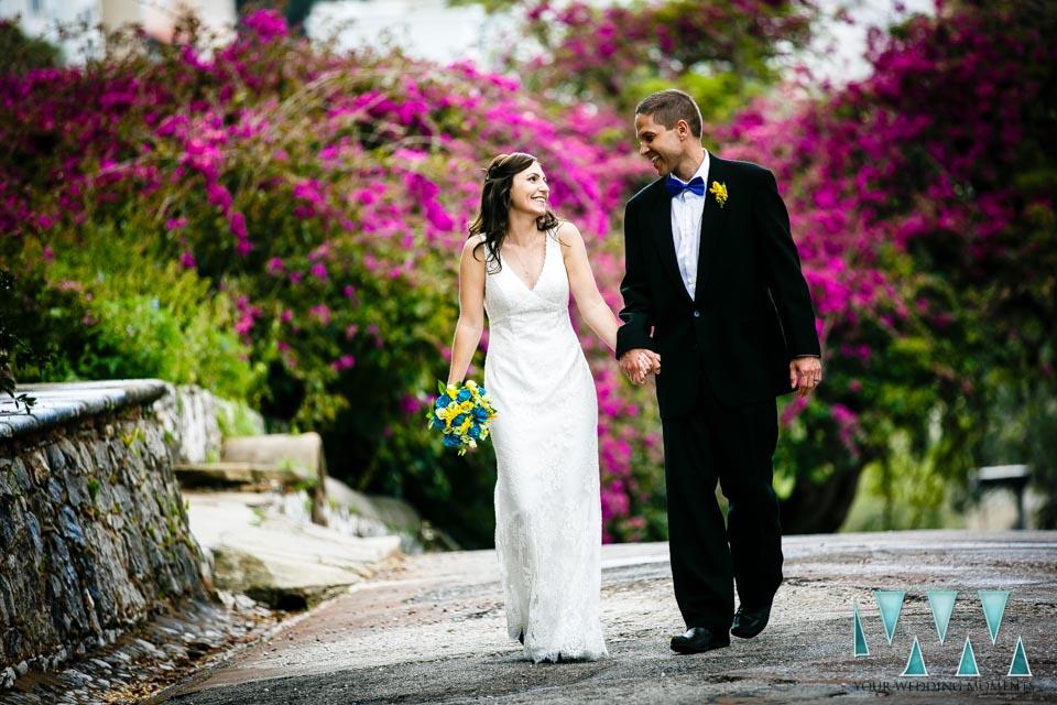 Gibraltar botanic gardens elopement