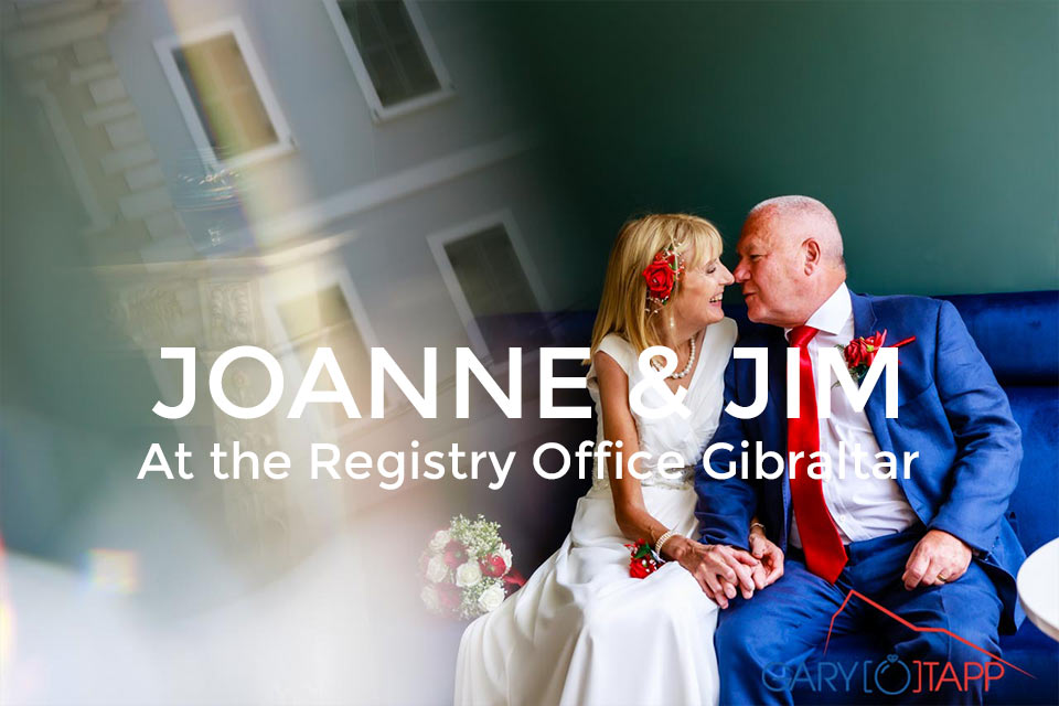 The Registry Office Wedding Photographer Gibraltar
