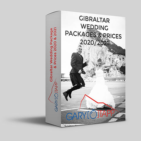 Wedding Packages in Gibraltar for my wedding photography and videography prices