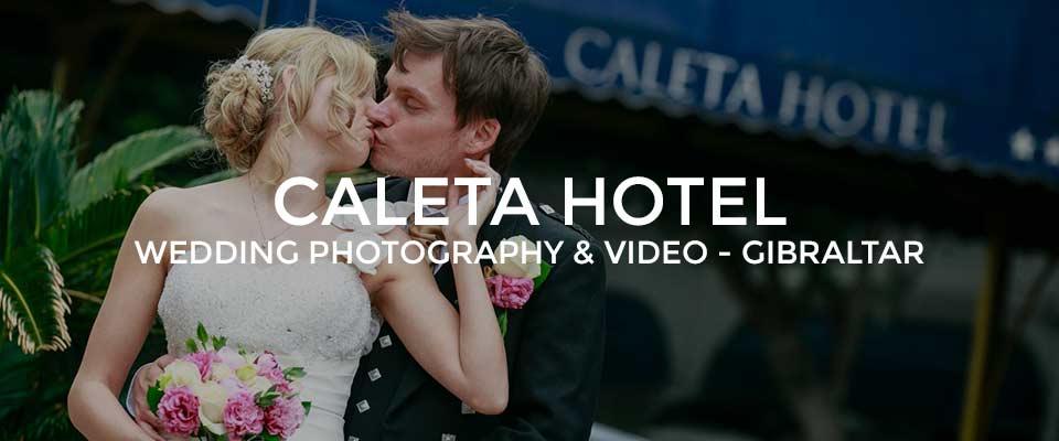 The Caleta Hotel Gibraltar Wedding Photographer