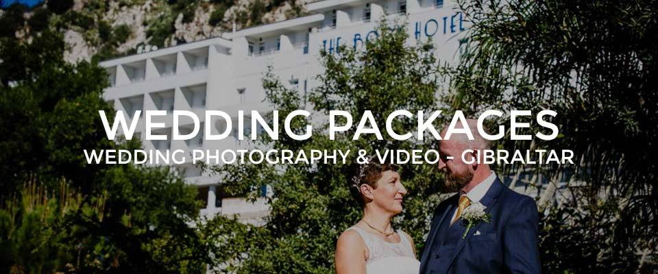 Gibraltar Wedding Packages and Prices