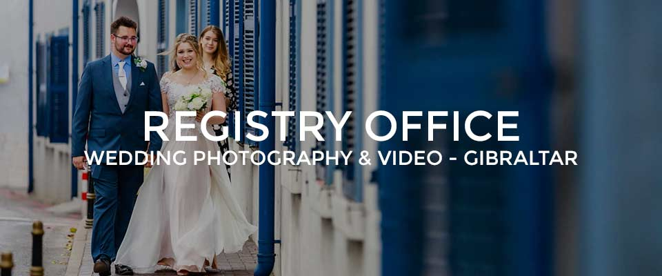 Registry Office Wedding in Gibraltar