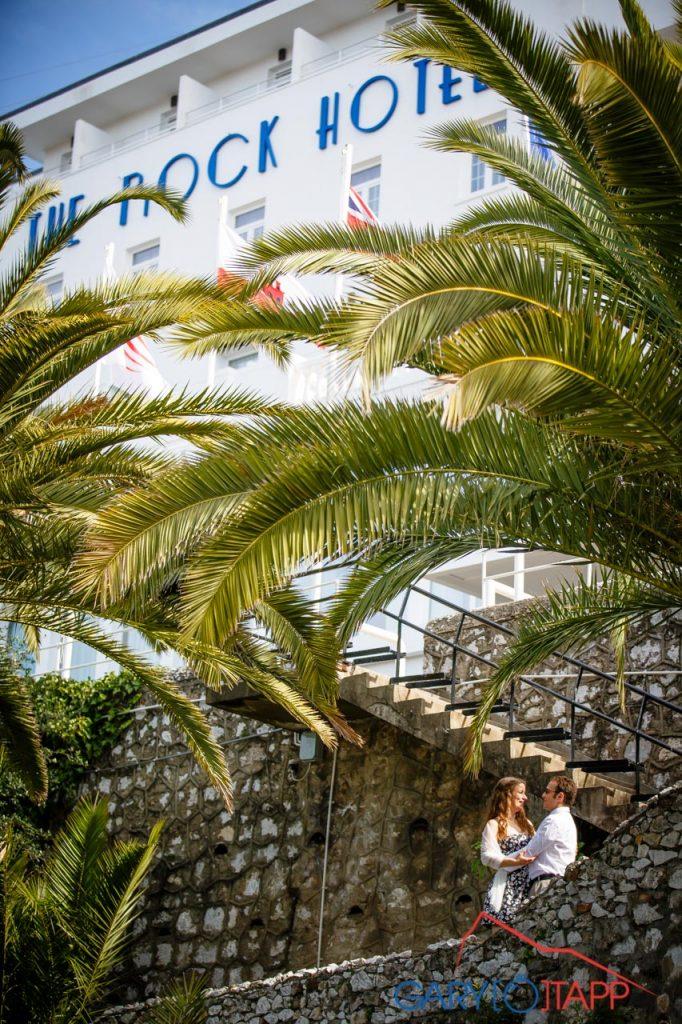 The Rock Hotel Gibraltar wedding venue