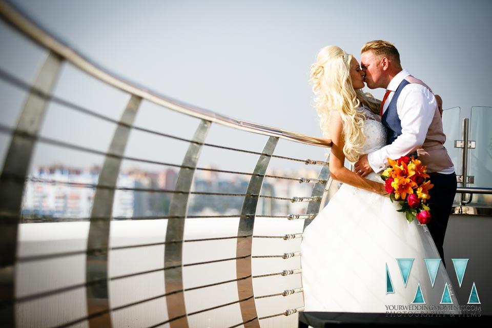 Wedding Venue in Gibraltar - The Sunborn Hotel