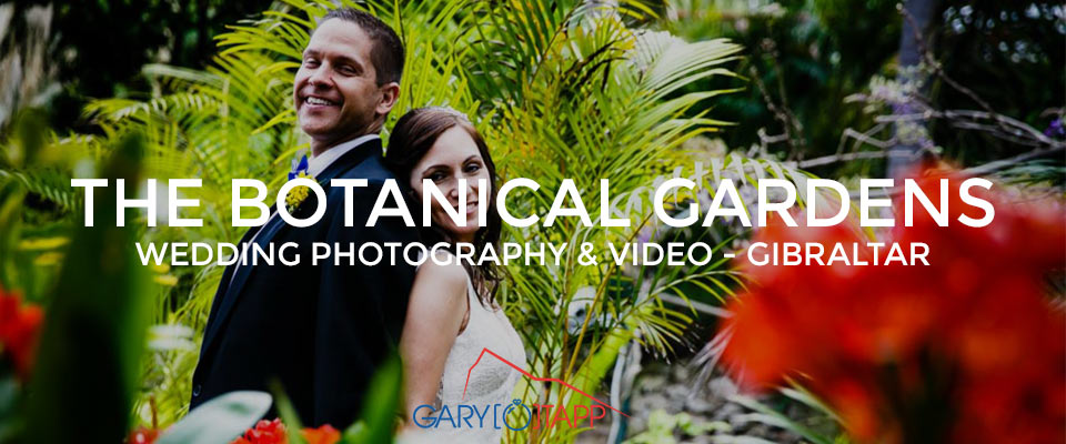 Botanical Gardens Gibraltar Wedding Photographer