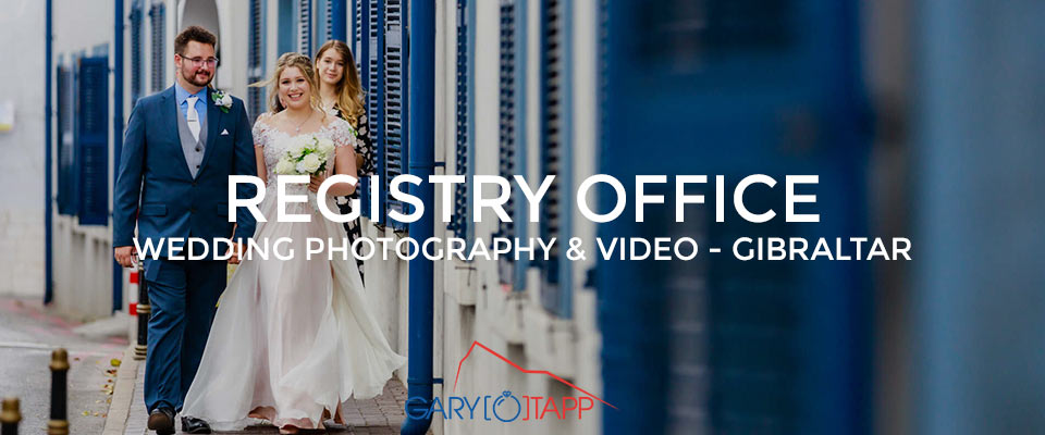 Registry Office wedding Gibraltar Photography & Videography