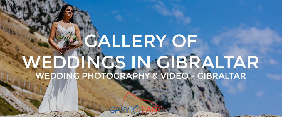 Gallery of weddings in Gibraltar