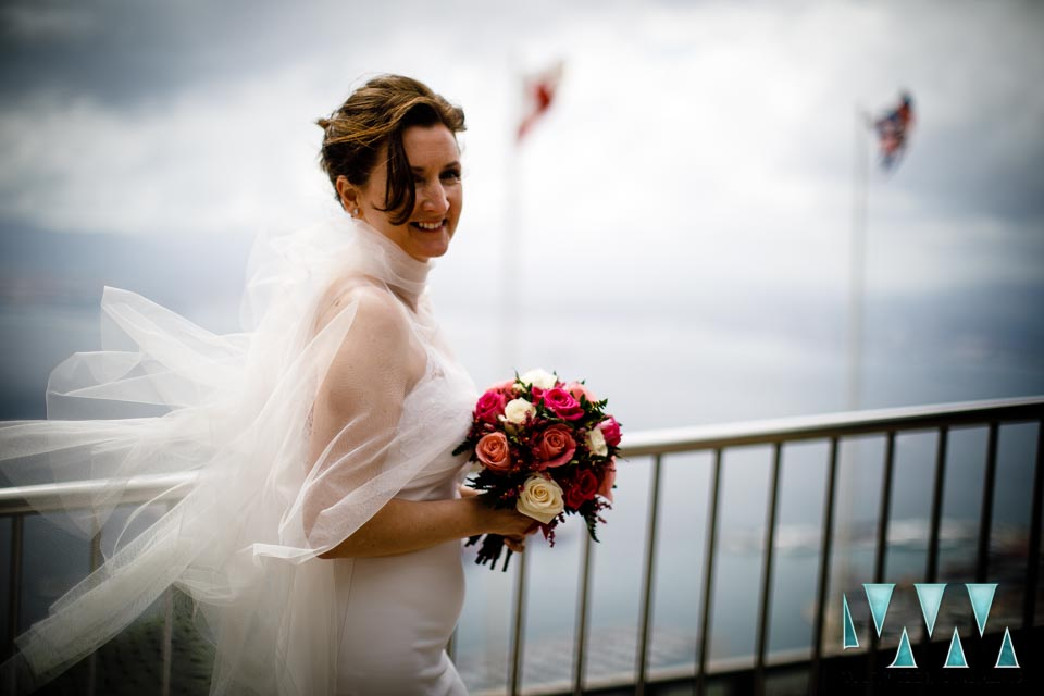 mons calpe suite wedding on top of the rock