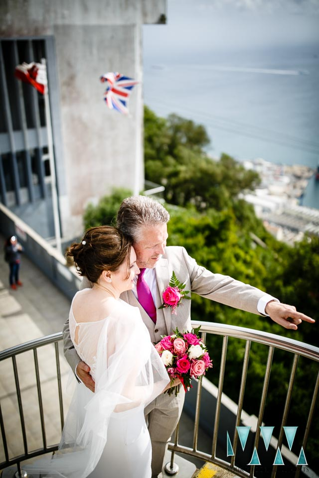 mons calpe suite wedding views over the bay of gibraltar