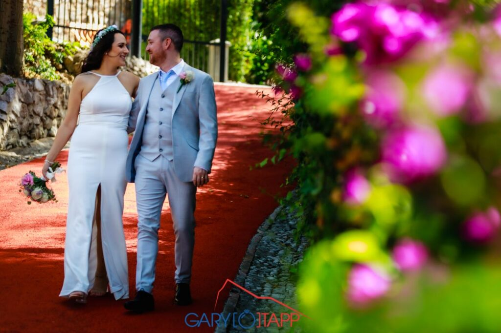 The Botanical Gardens Gibraltar Wedding