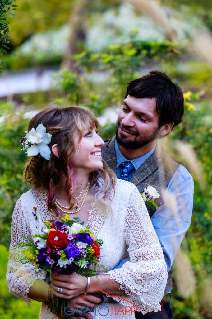 The Botanical Gardens Gibraltar Wedding
