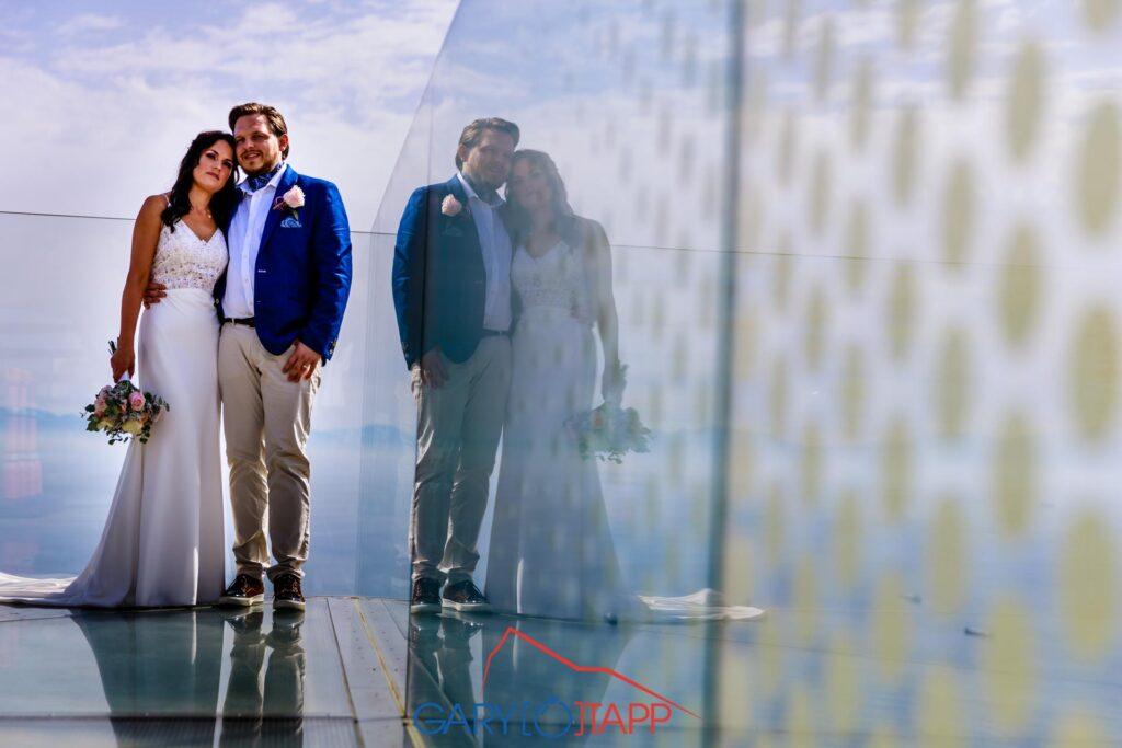 Skywalk Gibraltar Wedding